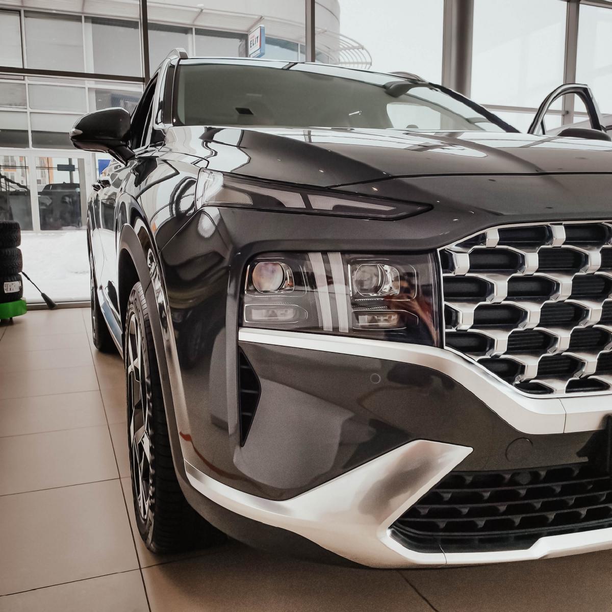 Якби комфорт і розкіш можна було б описати - це був би Hyundai Santa Fe!   Хюндай Мотор Україна - фото 13