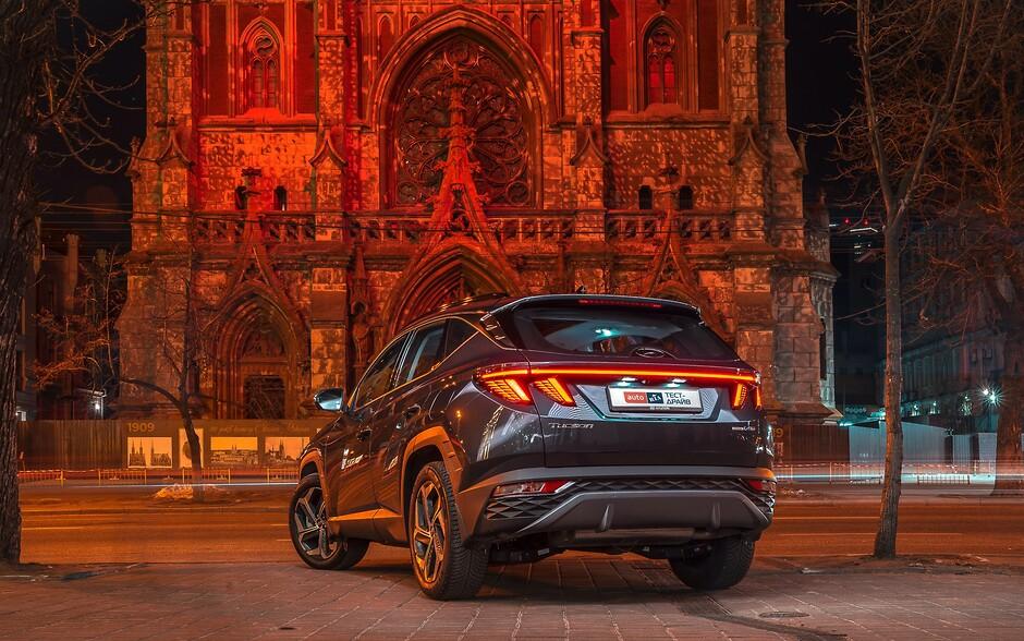 Тест-драйв Hyundai Tucson: Порушник спокою   Богдан-Авто Луцьк - фото 27
